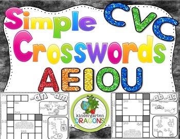 CVC Crossword Puzzles Pack