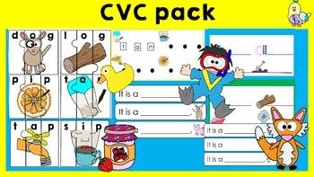 CVC Pack: CVC Puzzles