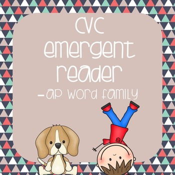 CVC Emergent Reader: Max and Miley see the -ap Family