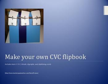 CVC Flipchart BLM
