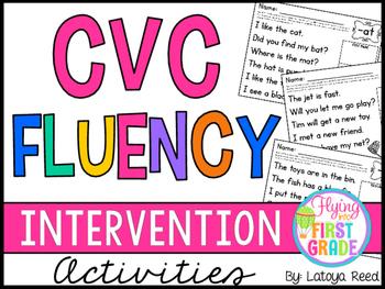 CVC Fluency