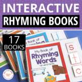 CVC Interactive Rhyming Book:  Hands-on Literacy Learning