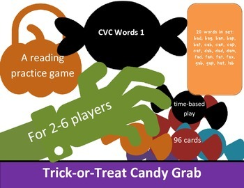 CVC List #1 Candy Grab Game