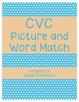 CVC Match the Words