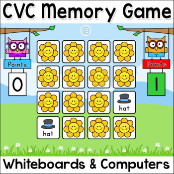 CVC Words Game - Short Vowel Sounds – Gingerbread Man Chri