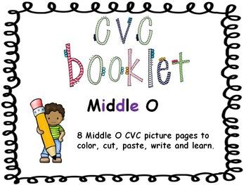 CVC - Middle O Booklet