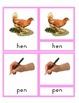 CVC Phonetic Reading Cards