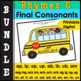 Phonology:Final Consonant Deletion & Rhymes Bundle
