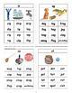 CVC Rhyming Word Family Flip Books, Word Wall Cards, Traci