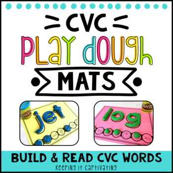 CVC Play Dough Mats