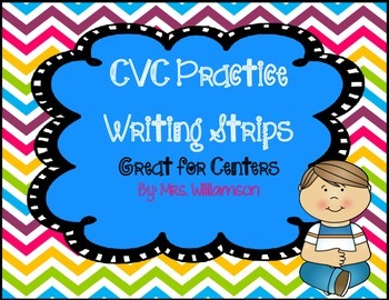 CVC Practice Writing Strips