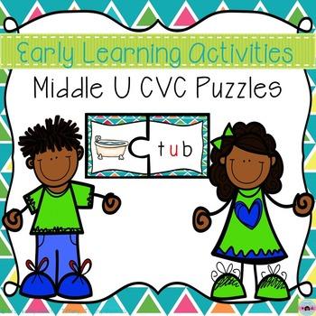 CVC Puzzles (Middle U)