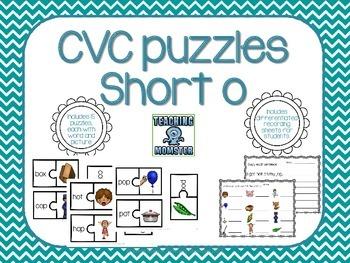 CVC Puzzles--Short o edition