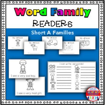 Emergent Readers for CVC Words: Short A Set