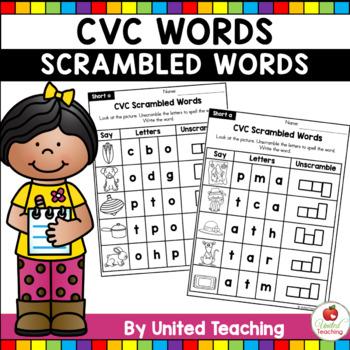 CVC Scrambled Words