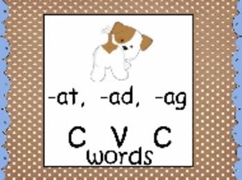 CVC Short Vowel Practice