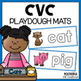 CVC Short Vowels Playdough Mats