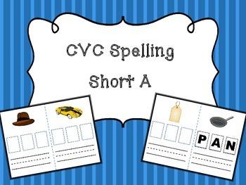 CVC Spelling - Short A