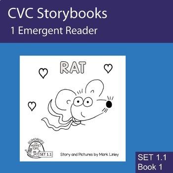 1 Emergent Reader  - SET 1_1_1 - RAT