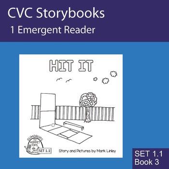 1 Emergent Reader  - Set 1_1_3 - HIT IT