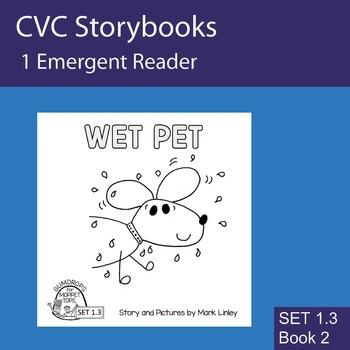 1 Emergent Reader  - Set 1_3_2 - WET PET