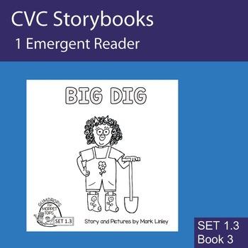 1 Emergent Reader  - Set 1_3_3 - BIG DIG