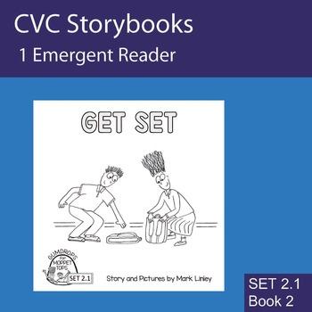 1 Emergent Reader ~ SET 2.1 Book 2 ~ GET SET