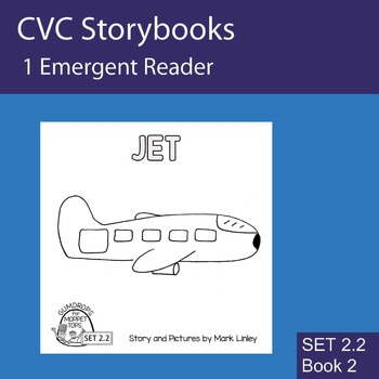 1 Emergent Reader ~ SET 2.2 Book 2 ~ JET