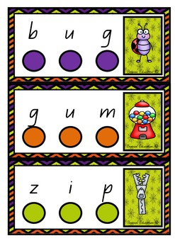 CVC Tap Cards – Stretching Out Sounds
