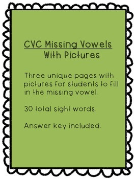CVC Vowel Fill_In
