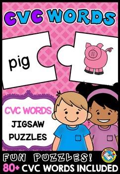 CVC ACTIVITIES: CVC WORDS PUZZLES: WORD WORK ACTIVITIES: R