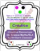 CVC Word Family - Cut, Paste and Write