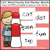 CVC Word Family Dot Marker Pages