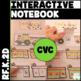CVC Word Family Interactive Notebook Bundle