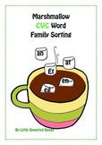 CVC Word Family Matching Game