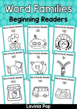 CVC Word Family Readers