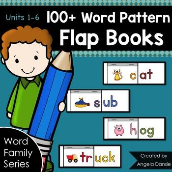 Word Pattern Flap Books