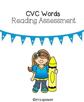 CVC Word List Assessment