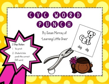 CVC Word Punch