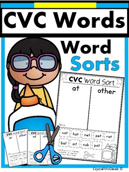 I Can Read CVC Words!  (CVC Word Sorts)