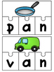 CVC Word Work {Short A Puzzles}