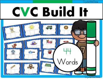 CVC Word Work (Small Reading Group Literacy Activity) 32 B
