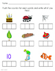 CVC words Worksheet Pack with Elconian boxes