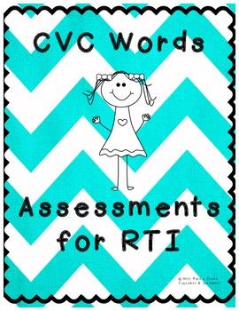 CVC Words Assessment for RTI
