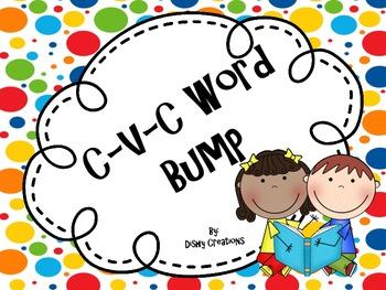 CVC Words BUMP Game