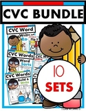 CVC Words BUNDLE! Half Price (puzzles, printables, games,