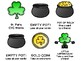 CVC Words Card Game - St. Patrick's Day Version