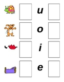 CVC Words Cards for Initial & Final Sounds