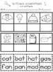 CVC Word Work  - A Beginning Phonics Cut and Paste Pack