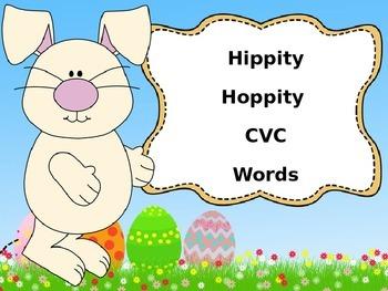 CVC Words Power Point- Easter Theme